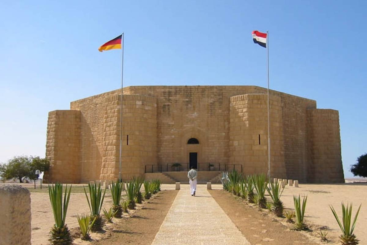 El Alamein all Tombs From Alexandria port