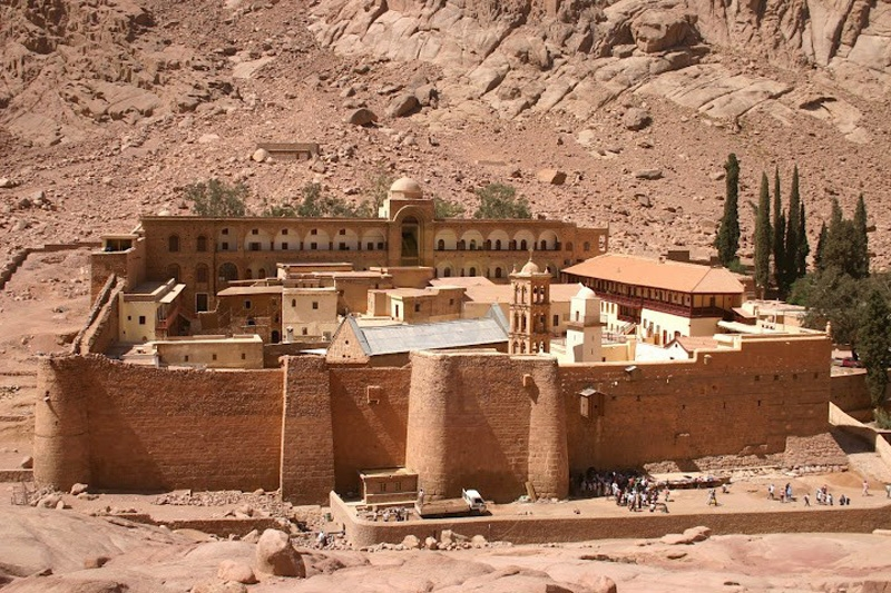St. Catherine Monastery from Sharm el Sheikh Port