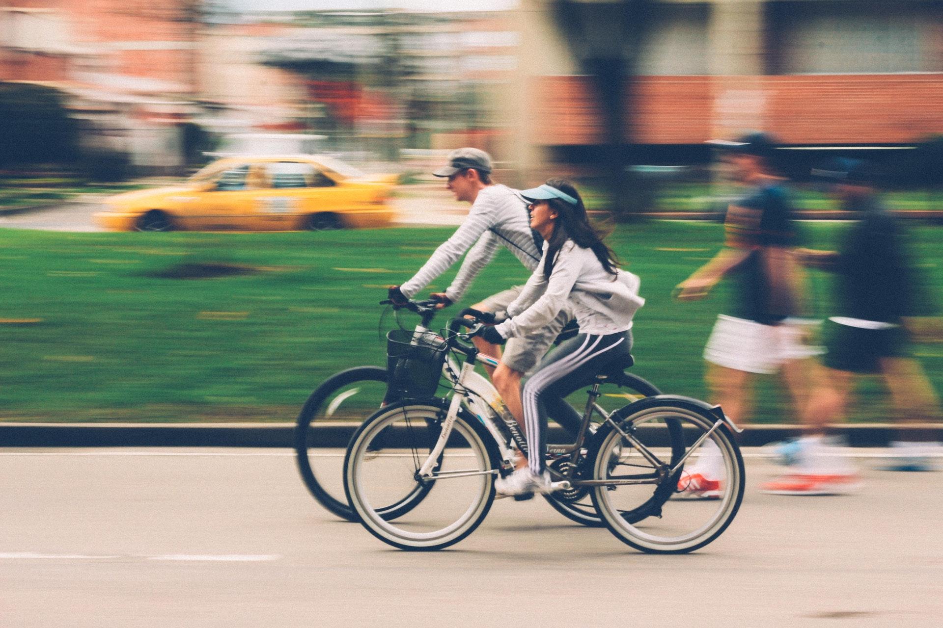 On the bike through Alexandria
